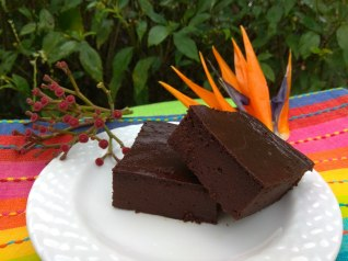 BROWNIE DE BATATA DOCE
